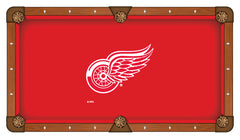 Detroit Red Wings Pool Table Billiard Cloth