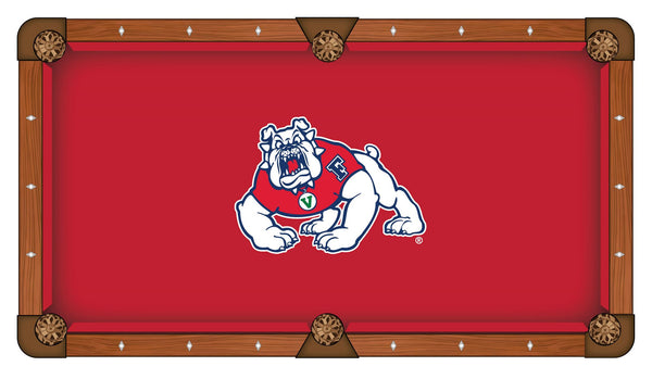 Fresno State Logo Billiard Cloth