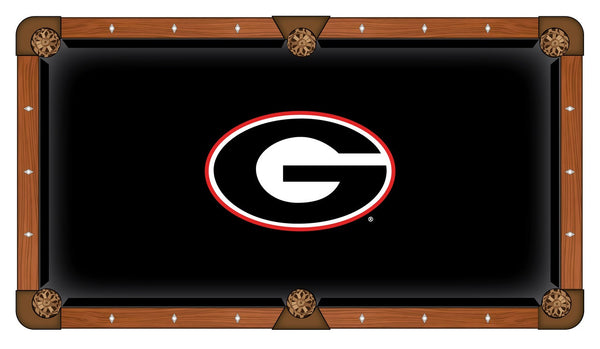 Georgia Logo Billiard Cloth