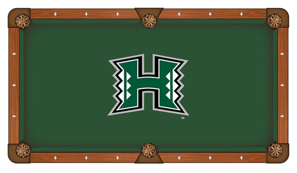 Hawaii Logo Billiard Cloth