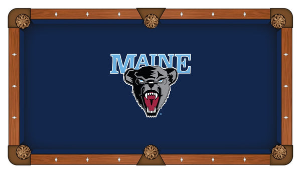 Maine Logo Billiard Cloth