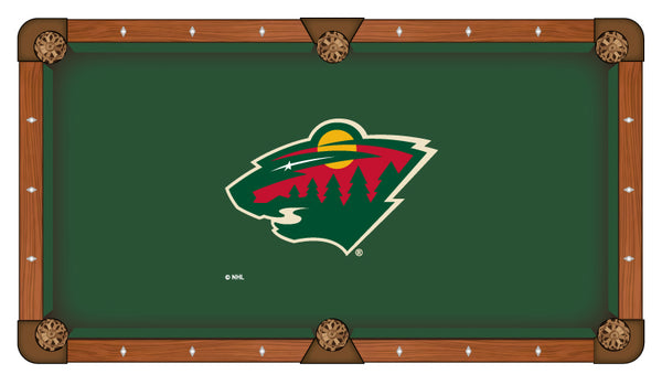 Minnesota Wild Logo Billiard Cloth