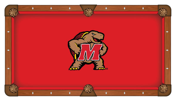 Maryland Logo Billiard Cloth