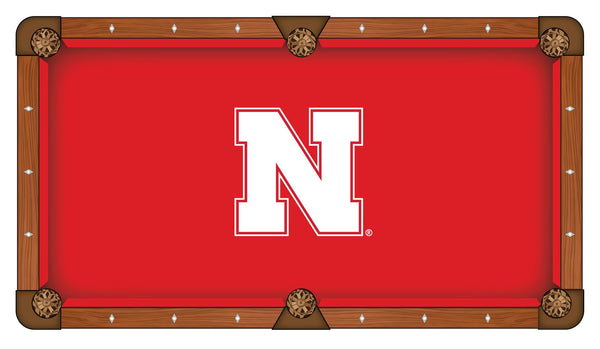 Nebraska Logo Billiard Cloth