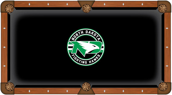 North Dakota Logo Billiard Cloth
