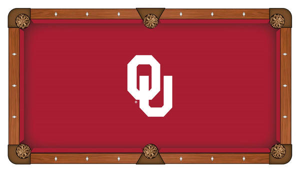 Oklahoma Logo Billiard Cloth