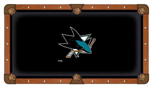 San Jose Sharks Logo Billiard Cloth