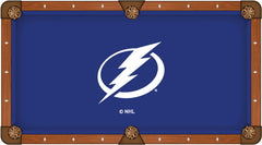 Tampa Bay Lightning Pool Table Billiard Cloth