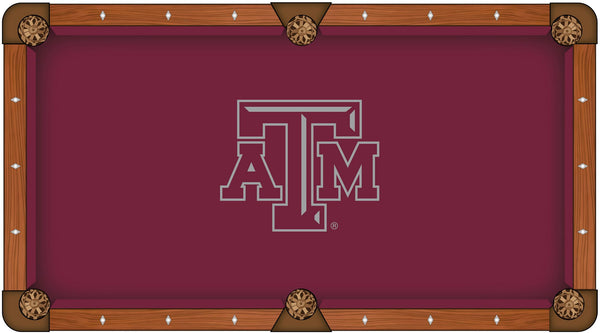 Texas A&M Logo Billiard Cloth