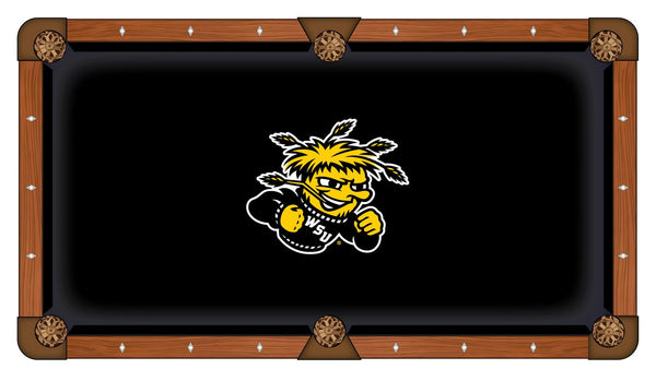 Wichita State Logo Billiard Cloth