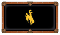 University of Wyoming Pool Table Billiard Cloth