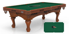 University of Alabama Birmingham Pool Table with Logo Cloth