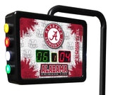 Alabama A Script Shuffleboard Scoring Unit