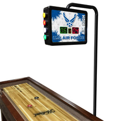 United States Air Force Shuffleboard Table Electronic Scoring Unit