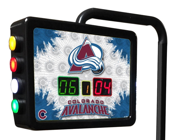Colorado Avalanche Shuffleboard Scoring Unit