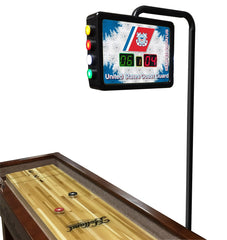 United States Coast Guard Shuffleboard Table Electronic Scoring Unit