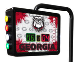 Georgia Bulldog Shuffleboard Scoring Unit