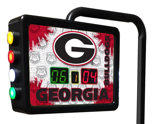 Georgia G Block Shuffleboard Scoring Unit