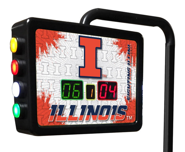 Illinois Shuffleboard Scoring Unit