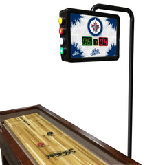 Winnipeg Jets Shuffleboard Table Electronic Scoring Unit