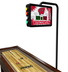 University of Wisconsin W Block Shuffleboard Table Electronic Scoring Unit