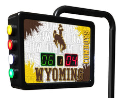 University of Wyoming Shuffleboard Table Electronic Scoring Unit