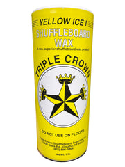 Triple Crown Yellow Ice 1 Shuffleboard Table Wax