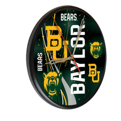 Baylor Bears Printed Wood Clock