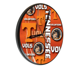 Tennessee Volunteers Printed Wood Clock