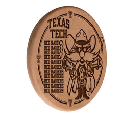 Texas Tech Red Raiders Engraved Wood Sign