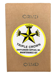 Triple Crown Whats in the Box Shuffleboard Table Maintenance Kit