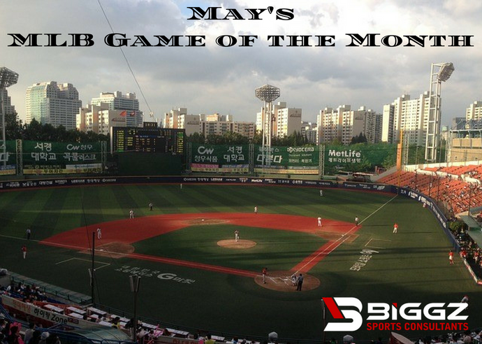 Biggz Sports Consultants May MLB Game of the Month Goes Tonight