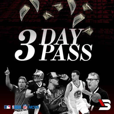 MLB 3 Day Pass