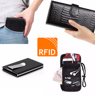 RFID Blocking Travel Wallets