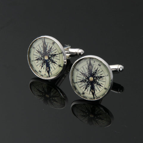 LOVE Sailing? Cufflinks For The Captain! - 1 set