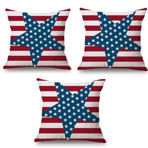 in french cushion throw linen pillowcase from home flag cotton garden cover pillow usa kingdom item sofa for on united bedroom the canada pillows