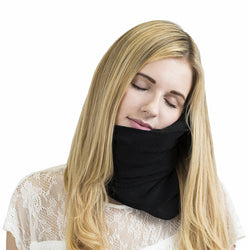 !!NEW!! Travel Pillow Wrap For Airplane Or Long Distance Car Travel