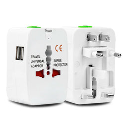 Universal Travel Adapter - ALL in ONE (+ Surge Protector)