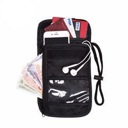 RFID Travel Wallet - Passport & Wallet Holder With RFID Blocking