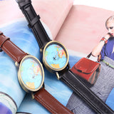 World Map Quartz Watch - Unisex
