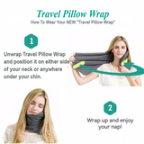 Travel Tessy: Scientifically Proven Super Soft Neck Support Travel Pillow - Machine Washable