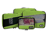 Travel Packing Cubes (4Pcs), Quality Breathable Travel Bags To Organize Your Luggage.