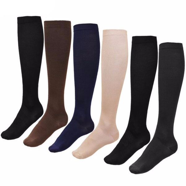Anti-fatigue Compression Socks For Travel & Sports (Unisex, Fit Men & Women)