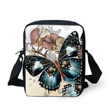 Small  Crossbody Messenger Bag for Women and Girls | 20 Different BUTTERFLY Designs!