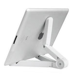 iPad Stand: Foldable Adjustable Stand For Your iPad, Tablet Or Phone
