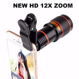 NEW HD12x Zoom Lens For Your Smartphone With EZ-Clip