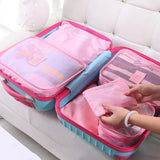 Luggage Packing Cubes - 3Pc Set with BONUS (3 Pack of Laundry Bags)