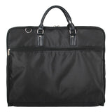 TRAVEL TESSY Waterproof Black Zipper Garment Bag With Hanger Clamp