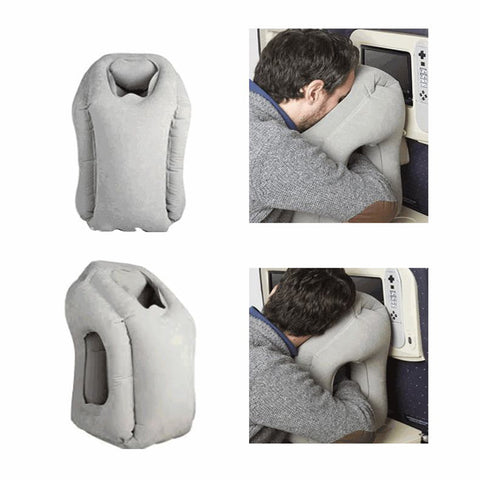 NEW DESIGN: Inflatable Travel Pillow For Airplanes