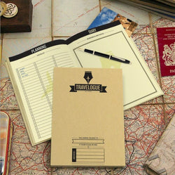 Luxury Travel Journal With Scratch-Off Maps